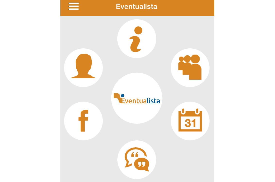 aplicación móvil eventos, app movil eventos, eventos iphone, eventos android, promcion de eventos, marketing online